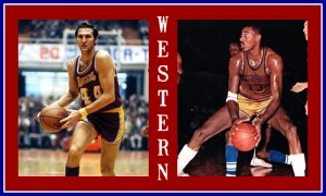 Jerry West Wilt Chamberlain